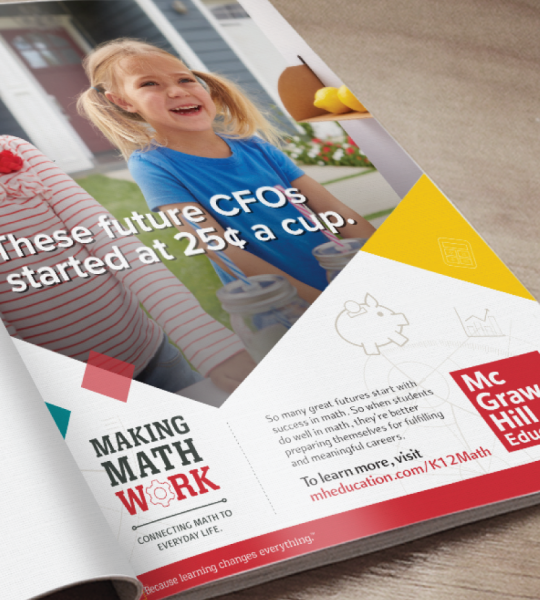 "McGraw Hill Education ""Making Math Work"" Campaign"
