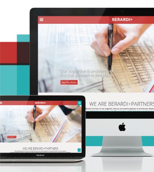 Berardi + Partners Website