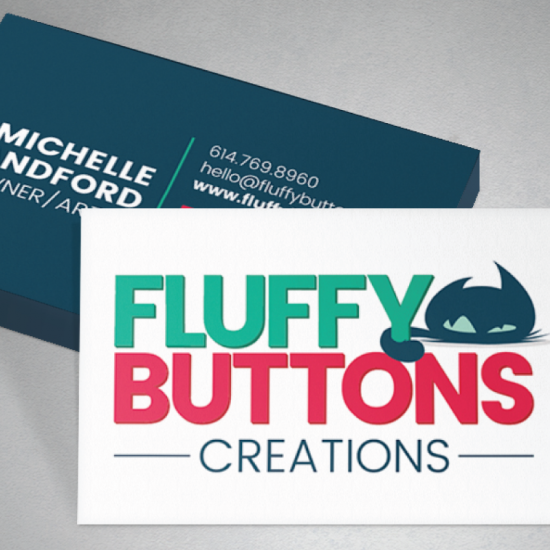 Fluffy Buttons Brand & Web