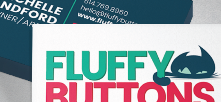 Fluffy Buttons Brand & Web