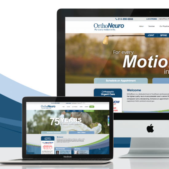 OrthoNeuro Brand & Web